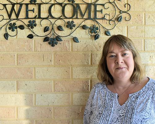 Reflexologist Christine Blandford