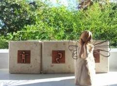 Angel ornament at Janette's Hands on Feet Reflexology