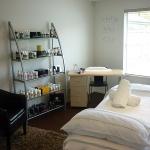 Jo Sutcliffe's treatment room