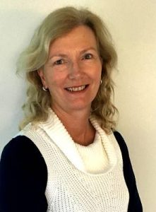 Reflexologist Cathy Hamilton